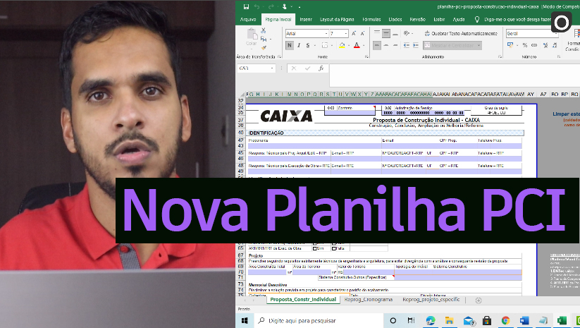 Como Preencher a Nova Planilha PCI Caixa